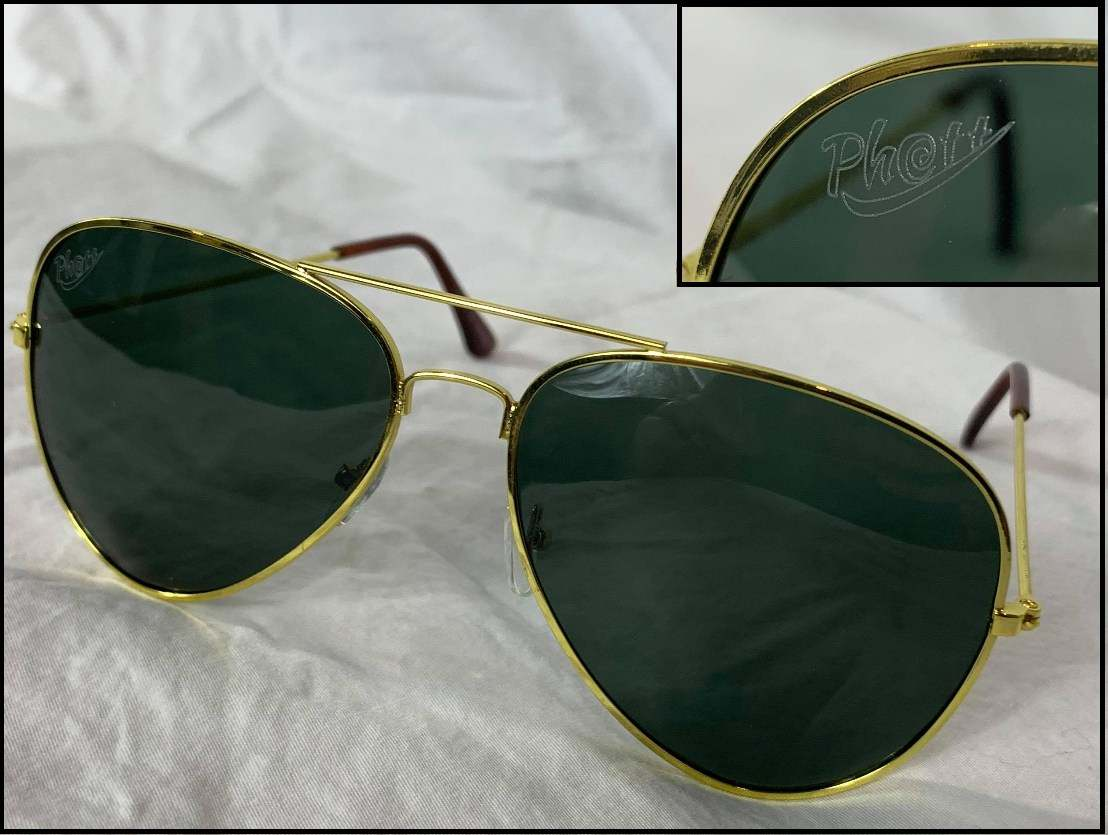 Sunglasses PHATT Gold Aviators